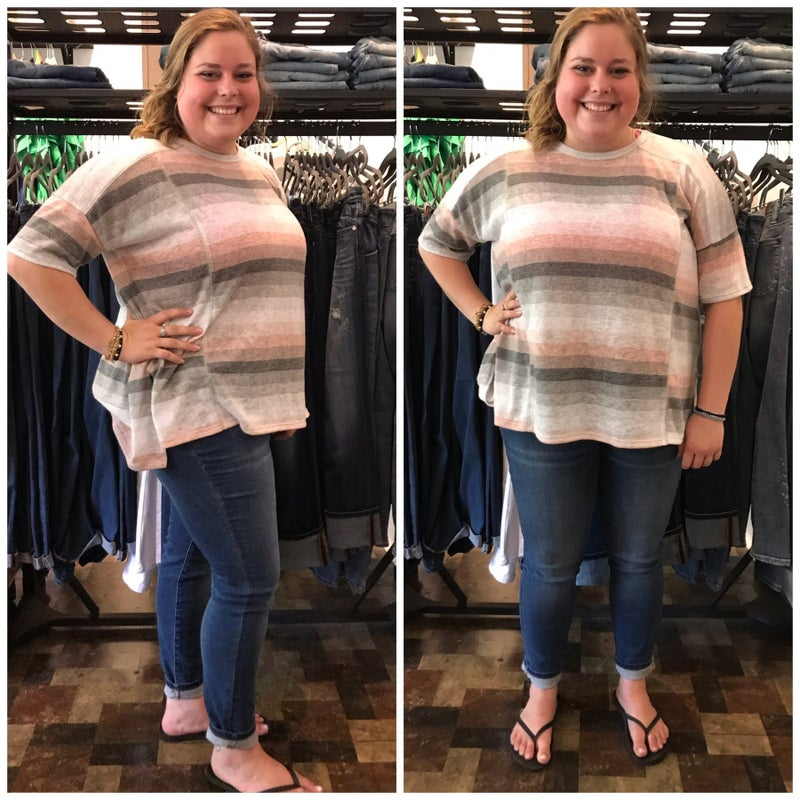 Reg/Plus Judy Blue Medium Wash Mid Rise Skinny Jeans