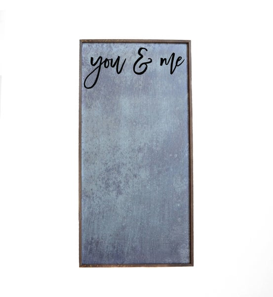 You & Me Magnetic Photo Frame