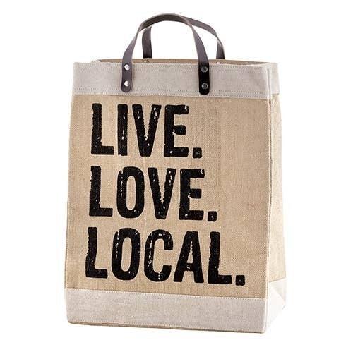 Live. Love. Local Market Tote