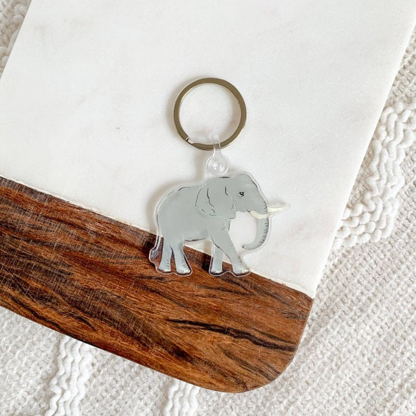 Elephant Key Chain