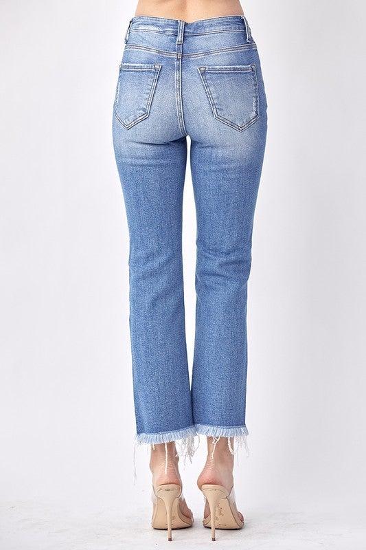 Risen Mid Rise Straight Jean