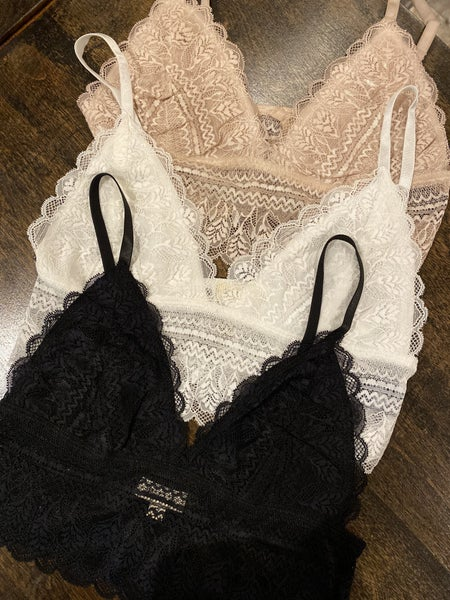 All Over Laced Edge Bralette