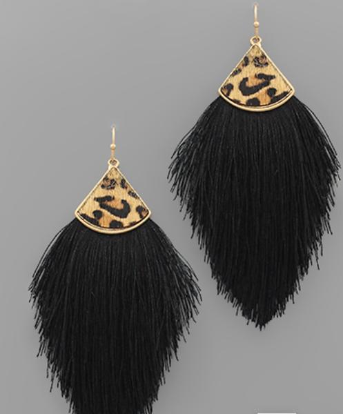 Leopard Lady Earrings