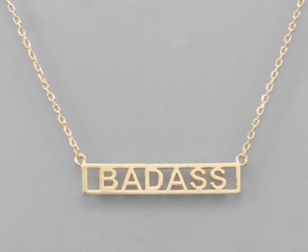 Badass necklace