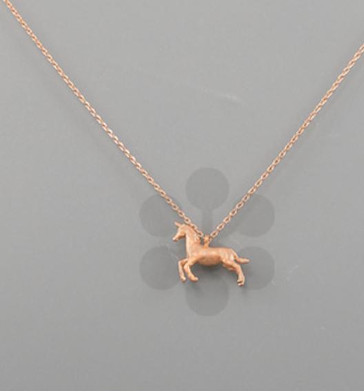 3D Unicorn Necklace