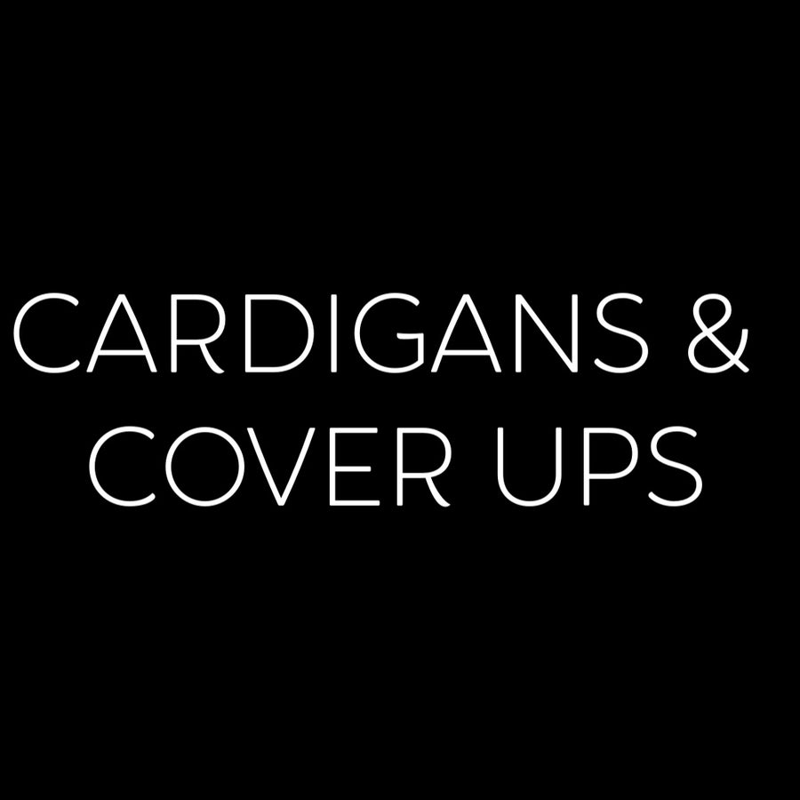Cardigans & Cover Ups