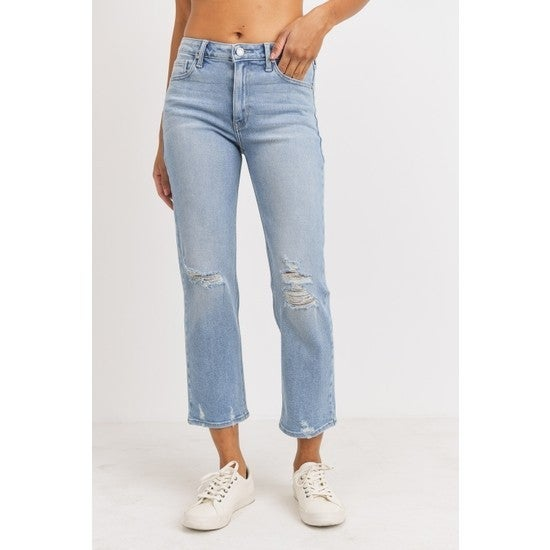"""High Rise """"Weekend"""" Jeans"""