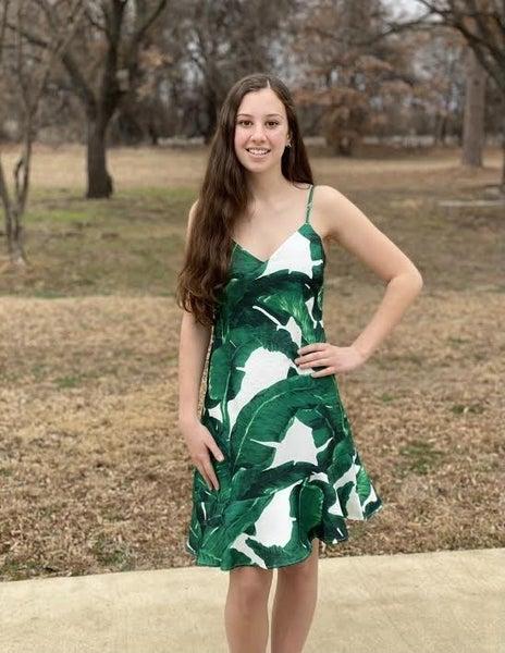 Tropical Mermaid Fit Dress