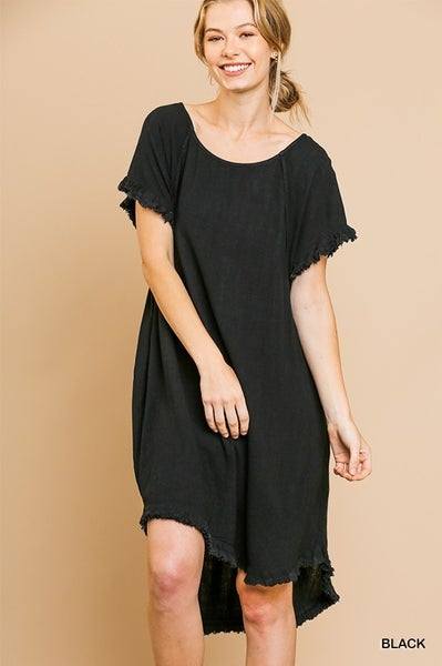 Black Hi/Lo Dress