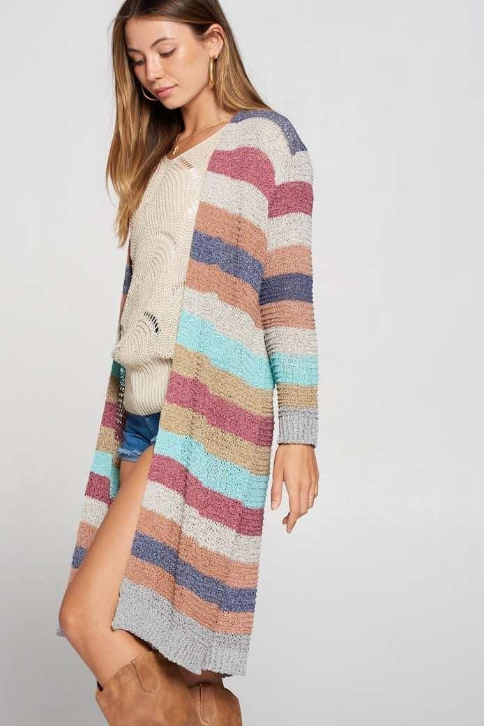 Striped Cardi