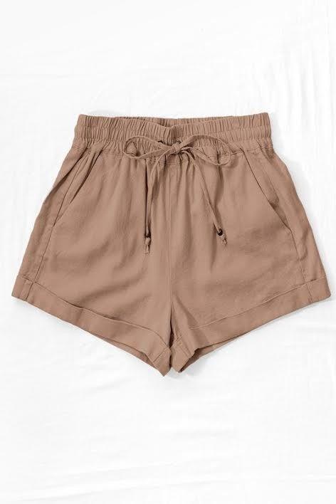 Mocha Shorts