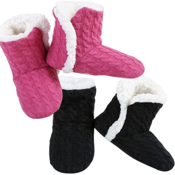 CozyToes - Women's Sherpa Slippers