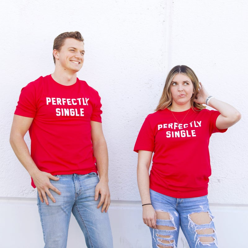 Perfectly Single - Graphic Tee