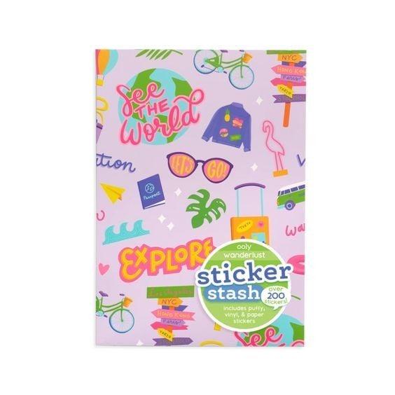 Wanderlust - Stickers Stash - over 200 pieces!
