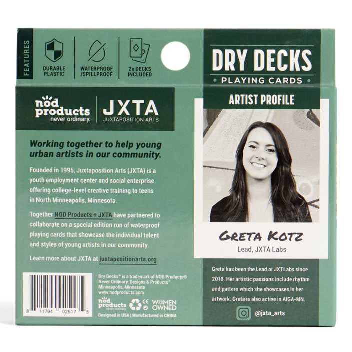 Bartender - Dry Deck Playing Cards
