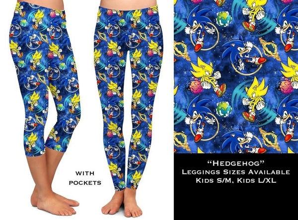 Kids: Hedgehog - Leggings w/Pockets