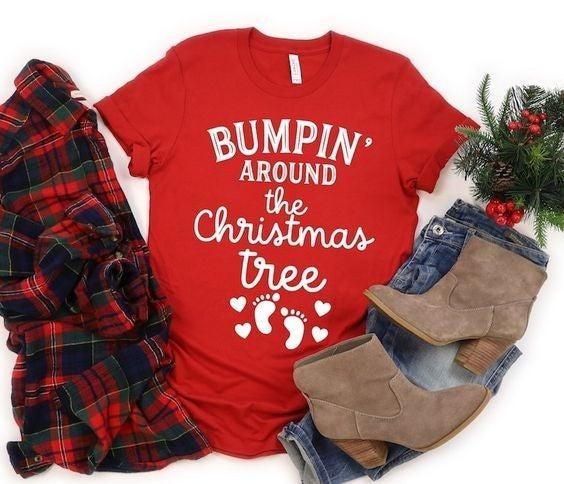 Bumpin' Around the Christmas Tree Tee