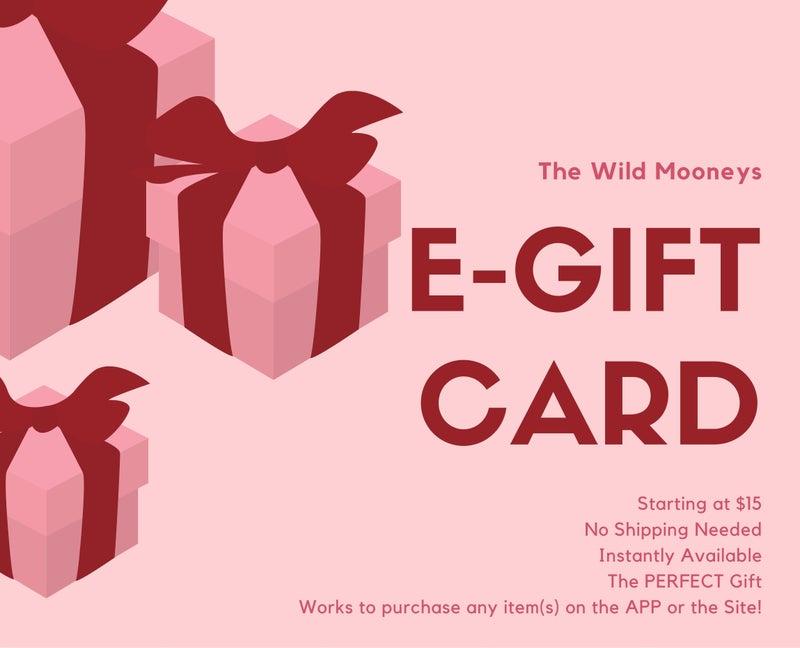 E-Gift Card - The Wild Mooneys
