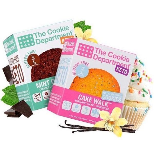 Keto & Gluten Free  Cookies - The Cookie Department