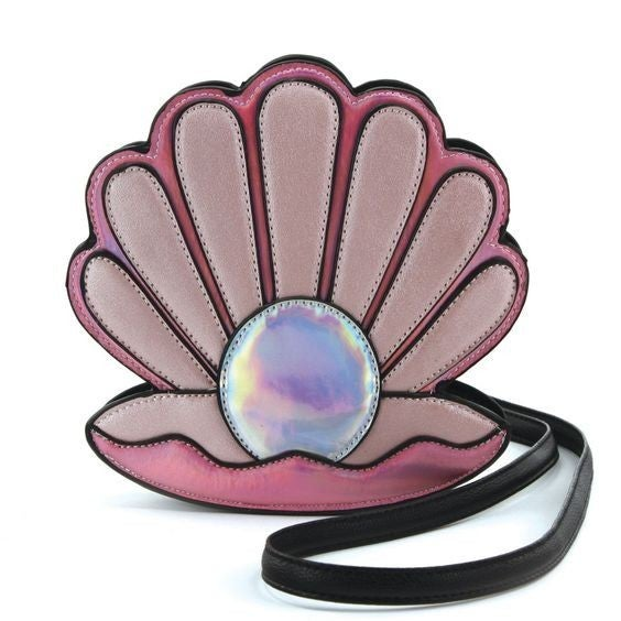 Pearl in Sea Shell Cross Body Bag