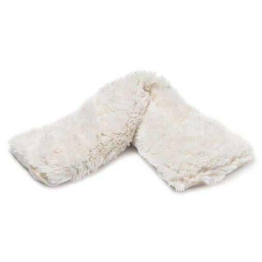Cream Faux-Fur - Heatable/Freezable Neck Wrap - Warmies