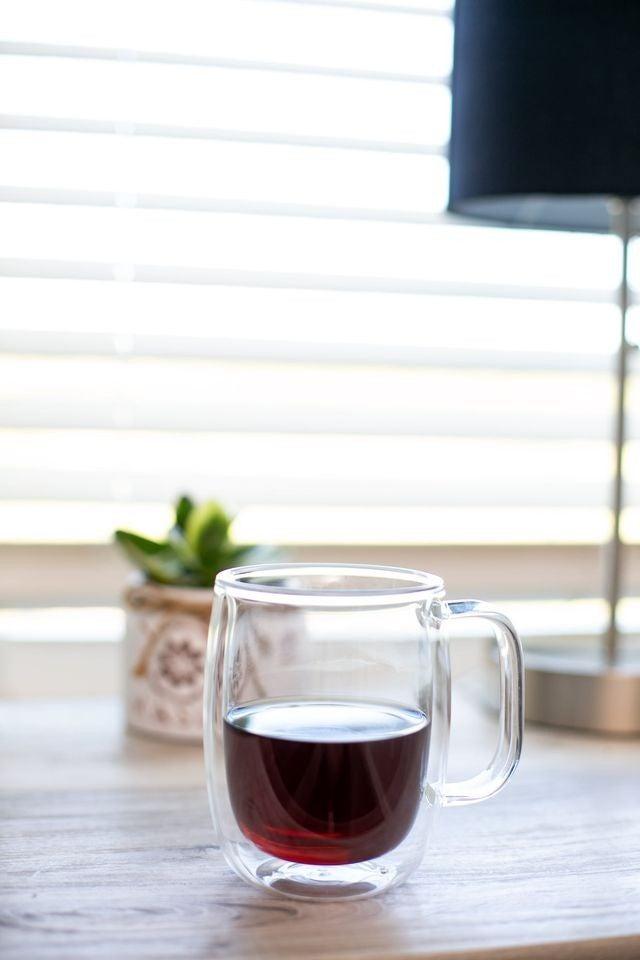 Floating Mug - 12 oz - Double-Walled Glass