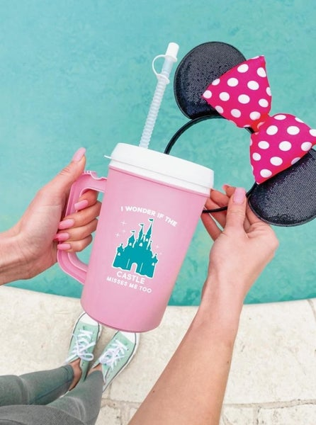 I Wonder If the Castle Misses Me Too - 22 oz Thermo Mug