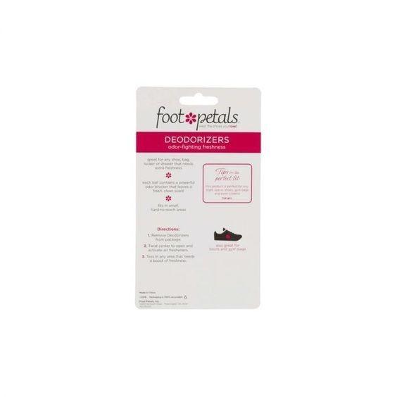 Deodorizer Balls - Foot Petals - Black & Pink