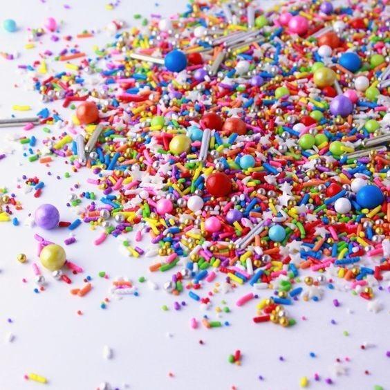 Rainbow Road - 4oz Jar Bespoke Sprinkles