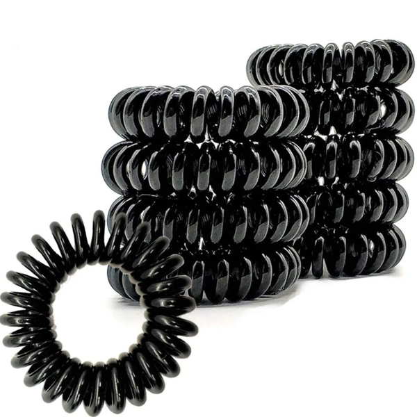 Black Magic Woman - Ouchless Coil Hair Ties