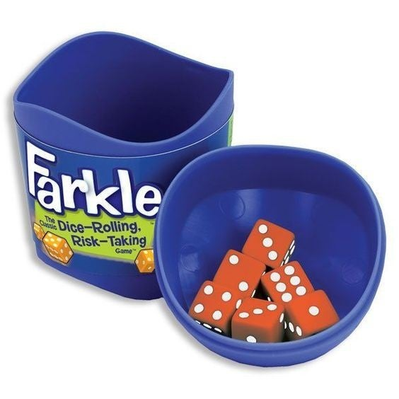 Farkle Dice Rolling Game