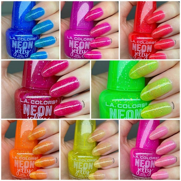 Neon Jelly Nail Polish - 8 Colors!