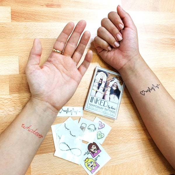 Besties Pack - Inked Temporary Tattoos