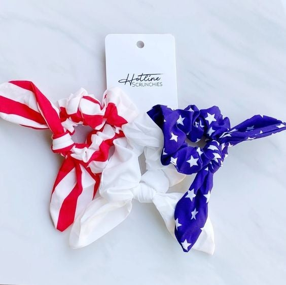 Freedom - Scrunchie 3 Pack