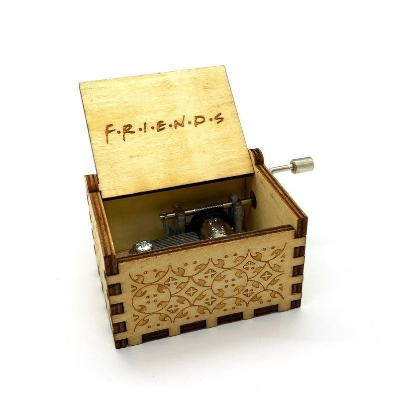 F.R.I.E.N.D.S. Theme Song - Hand Crank Tiny Music Box