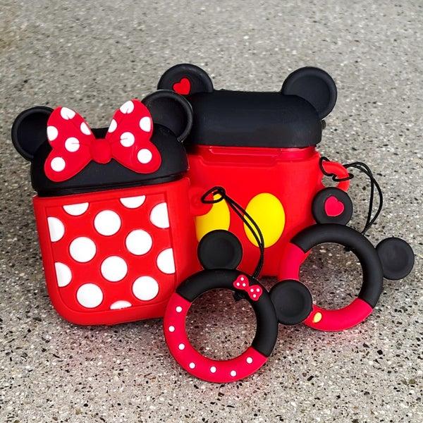Mickey & Minnie - Inpods + Silicone Case