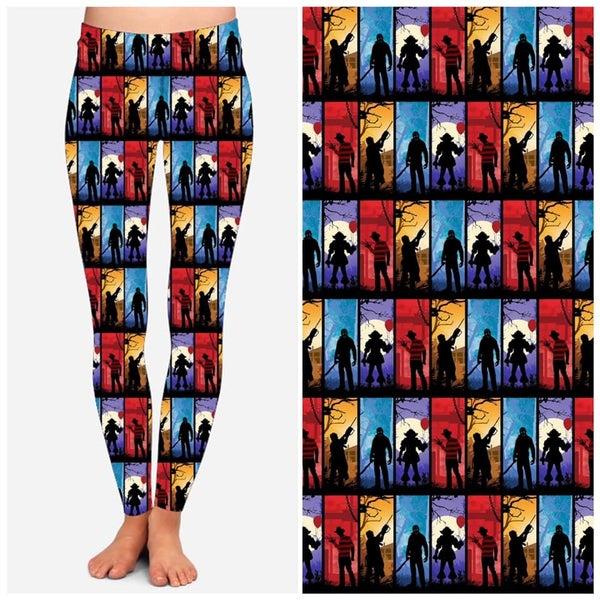 Horror Icons - Leggings w/Pocket