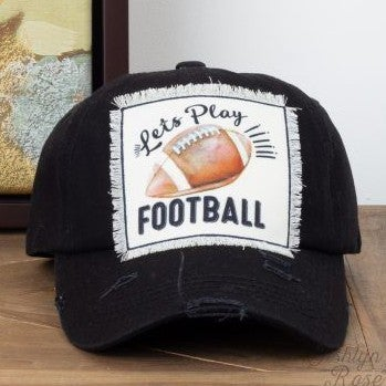 Let's Play Football Hat