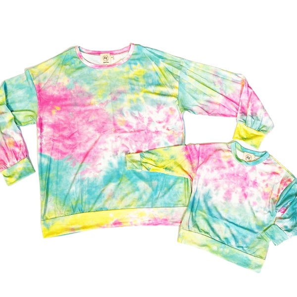 Totally Chill - Tie-Dye - Mommy & Me Tops!