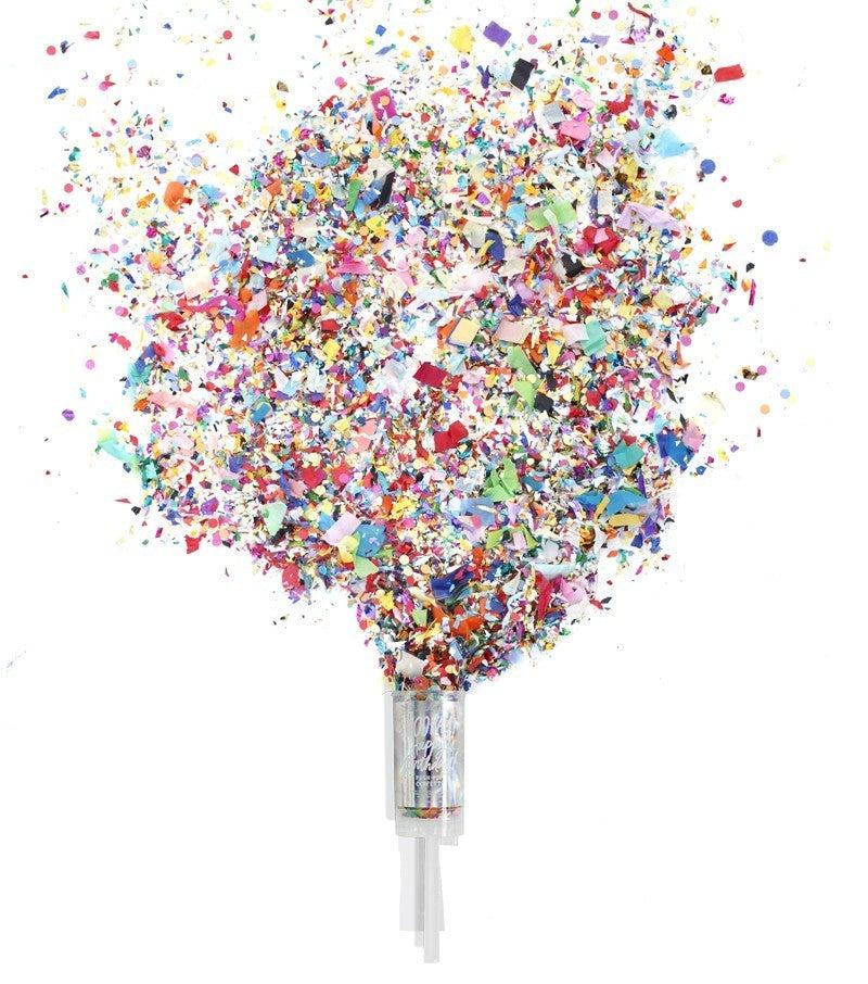 Birthday Hooray - Push Pop Confetti