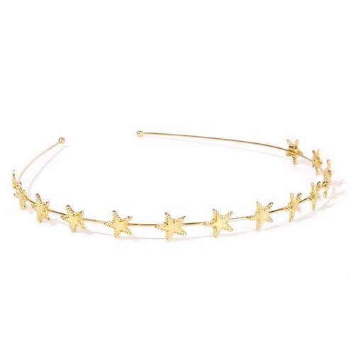 Gold Star Headband