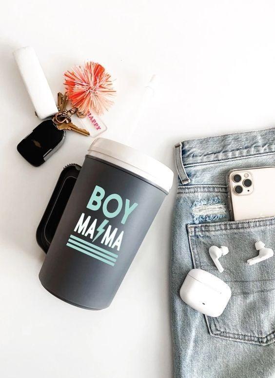 Boy Mama - 22 oz Thermo Mug