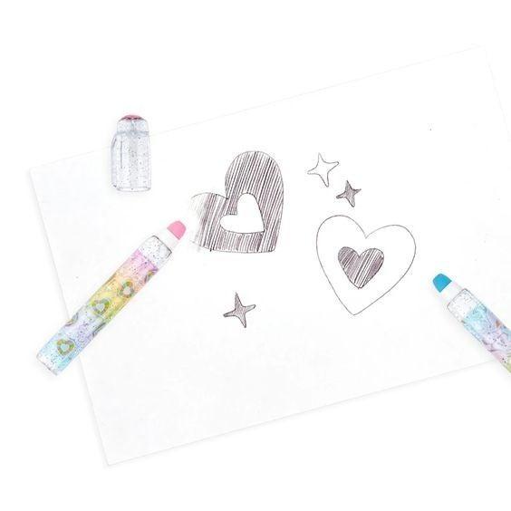 Rainbow Glitter Gem Scented Eraser
