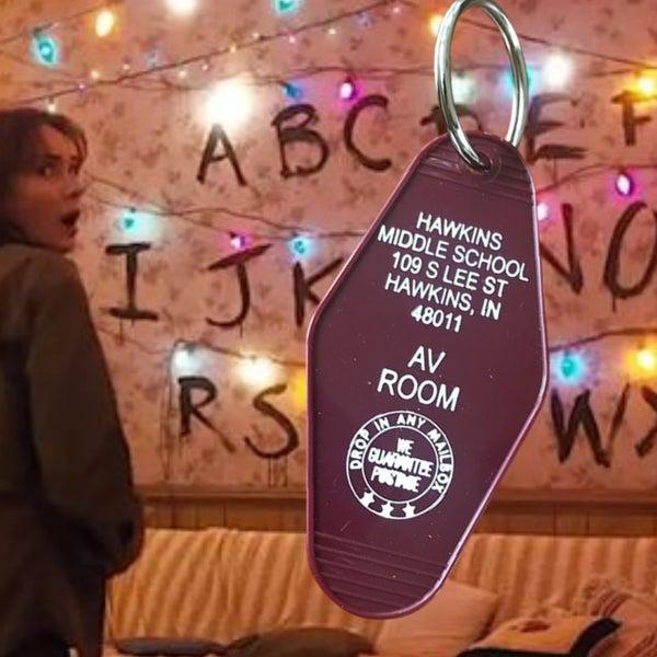 Hawkins Middle School - Motel Key Fob