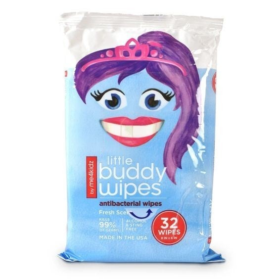 Little Buddy - Antibacterial Hand Wipes (32 ct)