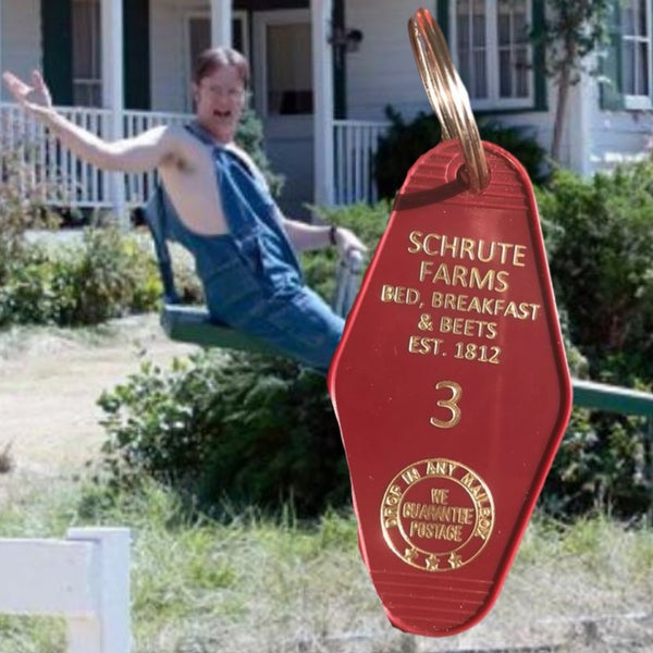 Schrute Farms - Motel Key Fob