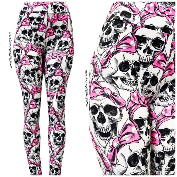 Beauty Skull Leggings