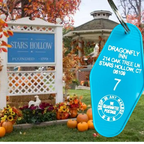 Dragonfly Inn - Gilmore Girls - Motel Key Fob