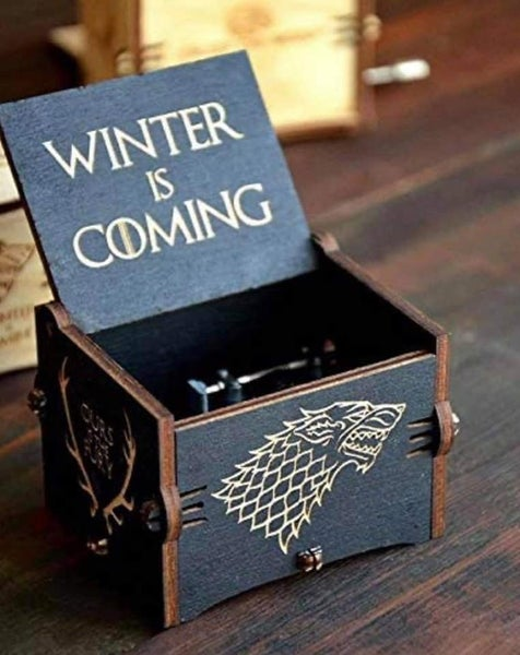 Game of Thrones - Hand Crank Music Box