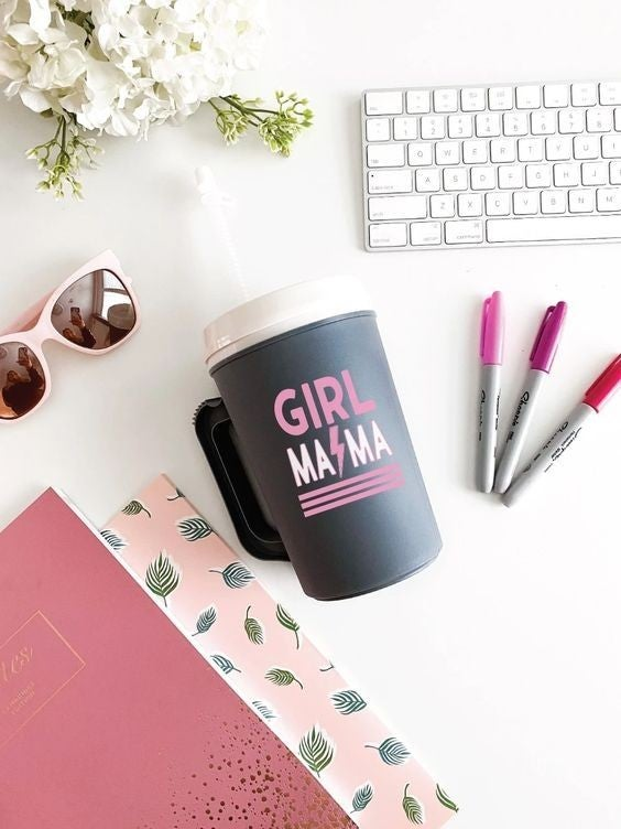 Girl Mama - 22 oz Thermo Mug
